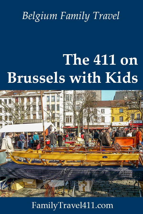 Brussels with kids family travel guide