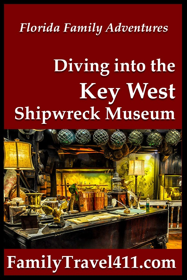 the Key West Shipwreck Museum with kids