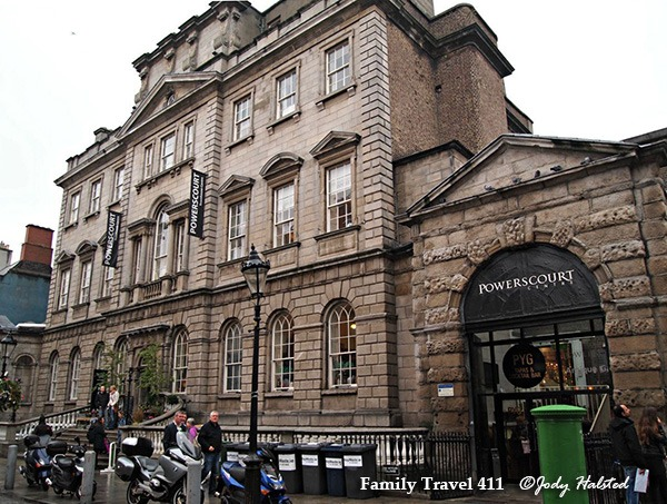 Georgian building in Dublin
