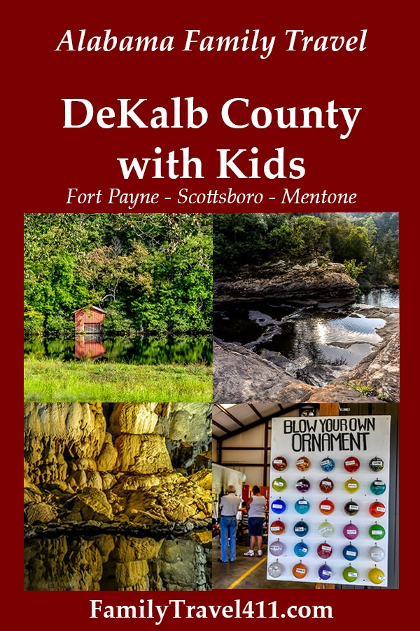 top sights for Alabama's DeKalb County with kids
