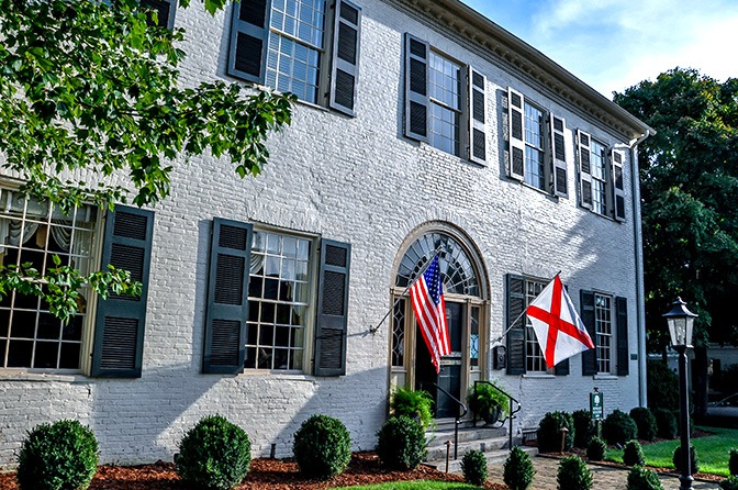 Howard Weeden's home in Huntsville, Alabama