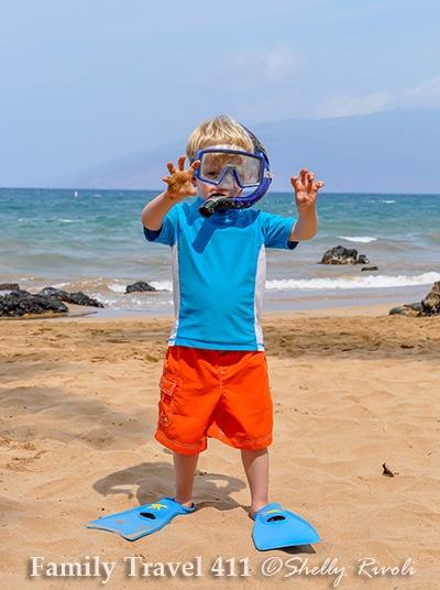 snorkel gear from Snorkel Bob's Maui