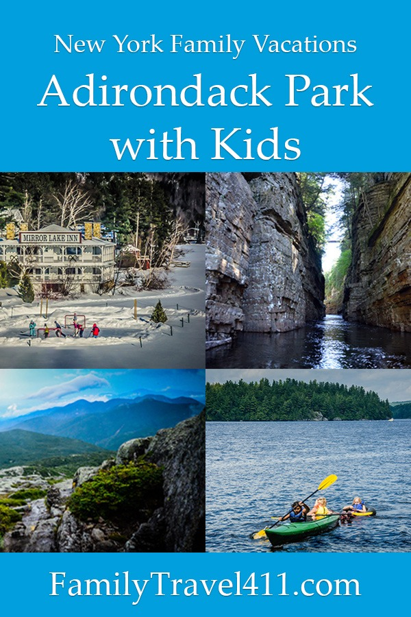 activities in Adirondack Park with kids