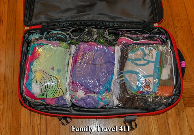 Packing for 3 kids? This works for me...