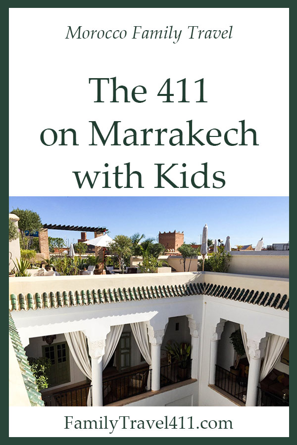 Marrakech with kids, Morroco family travel guide