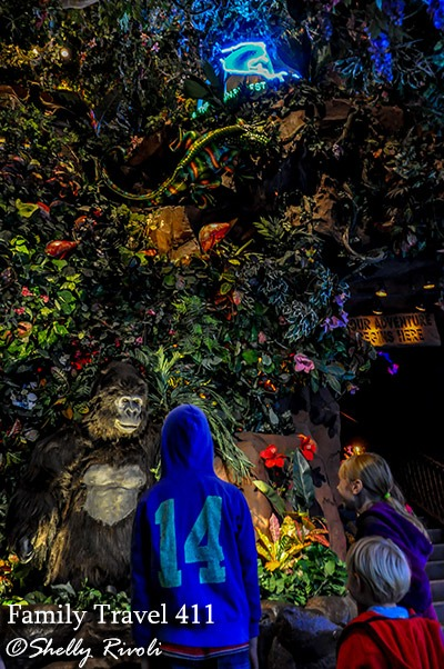 San Francisco's Rainforest Cafe