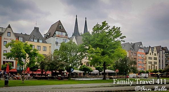 Rhine River Promenade
