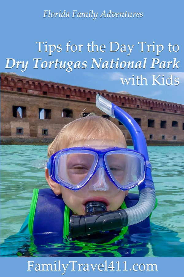 Dry Tortugas with kids tips for your visit to the national park