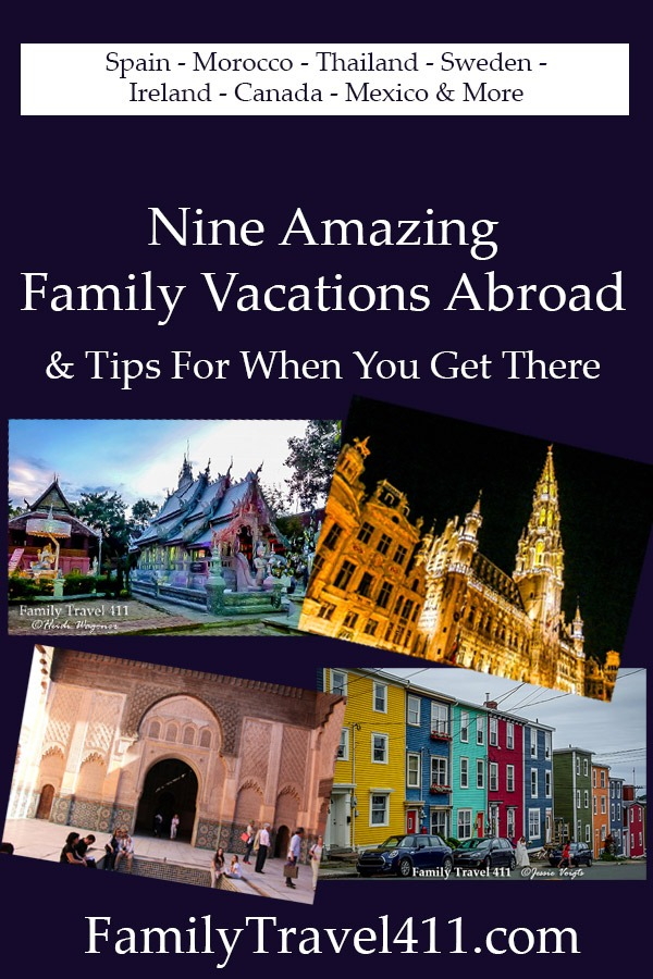 family vacations abroad