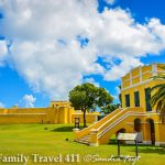 Fort Christiansted, St. Croix when visiting the US Virgin Islands with kids.
