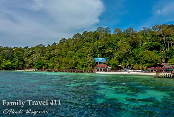 Palau Payar Marine park