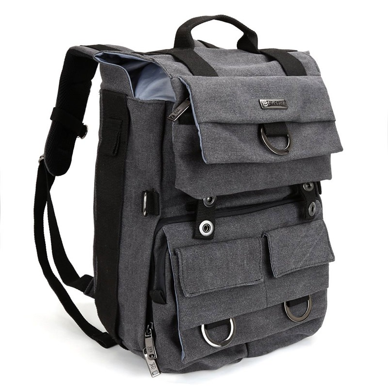 DLSR backpack and laptop travel case
