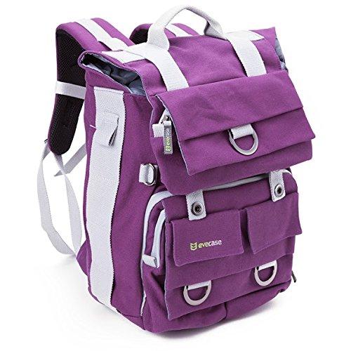 The Evecase DSLR-laptop backpack.