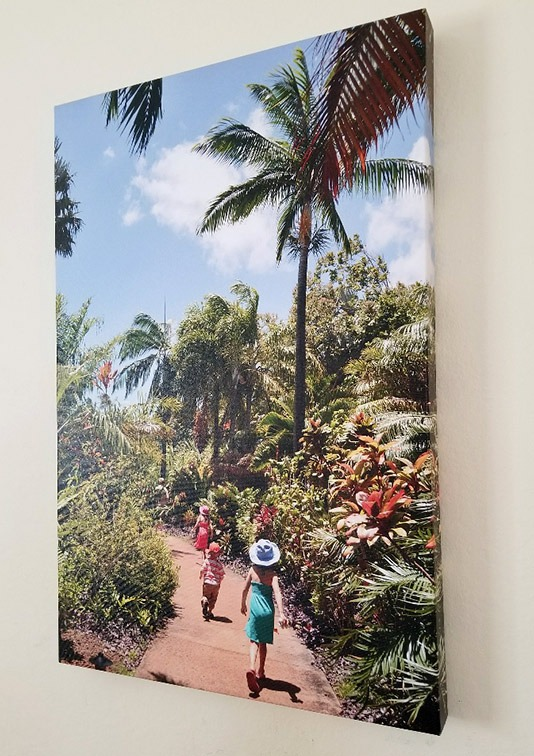 canvas photo enlargement gift for mom