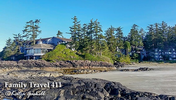 Family-friendly Wickaninnish Inn on Tofino's Chesterman Beach.