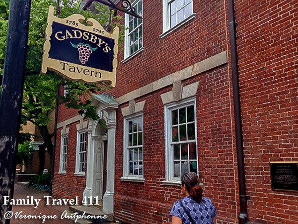 Gadsby's Tavern, Alexandria, Virginia