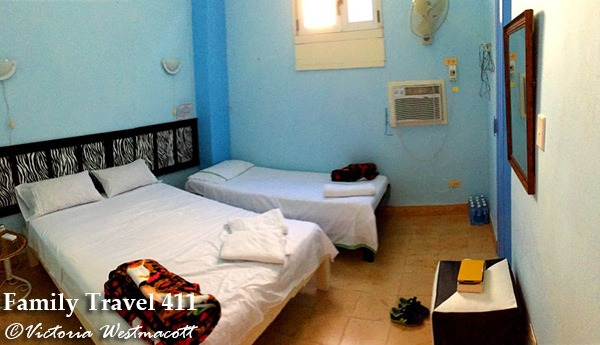 Casas particulares are a great option when visiting Havana with kids.