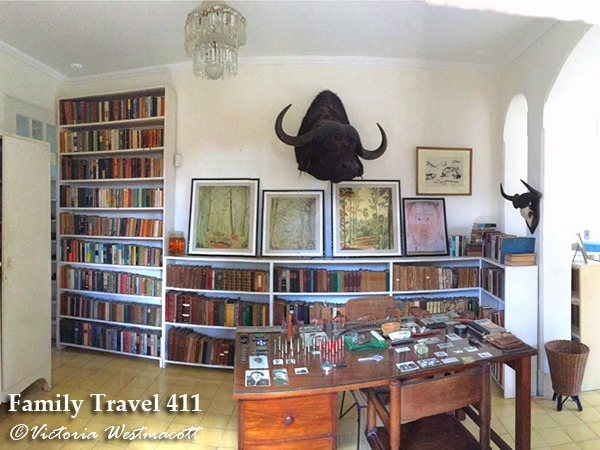 Ernest Hemingway's home and museum.