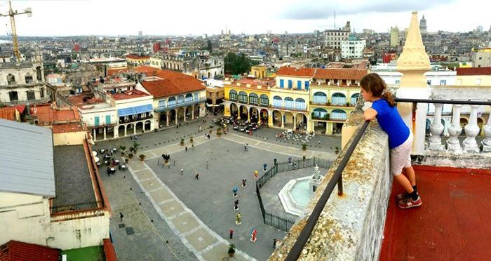 11 on Havana with kids.