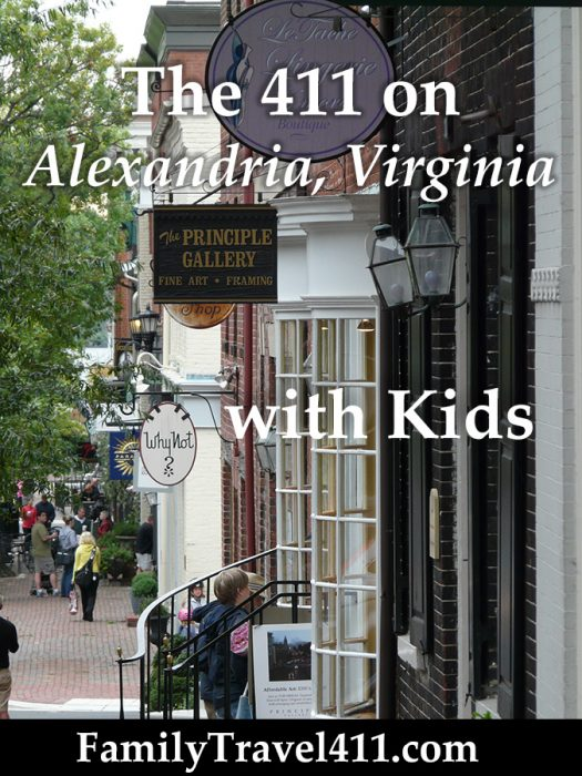 Virginia family vacation guide to Alexandria with kids