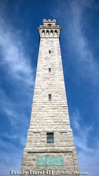 Pilgrim Monument at Provincetown, Cape Cod.