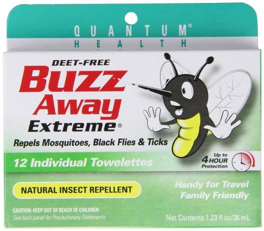 buzz away extreme wipes