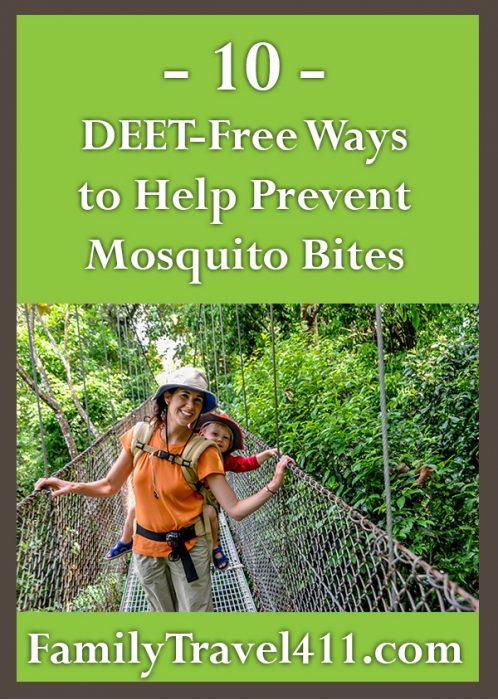 DEET-free ways to help prevent mosquito bites