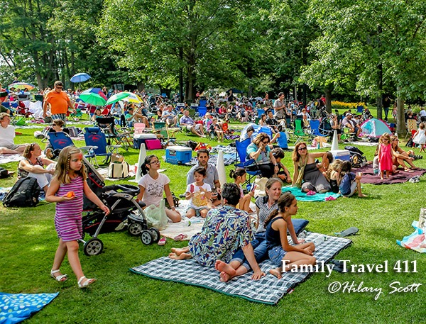 Outdoor music in the Berkshires