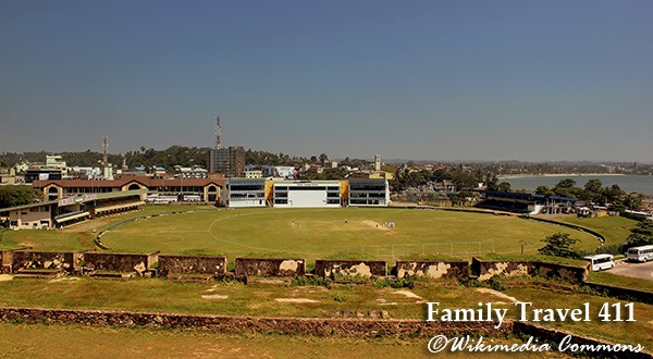 Catch a cricket match at Galle on your visit to Sri Lanka with kids.