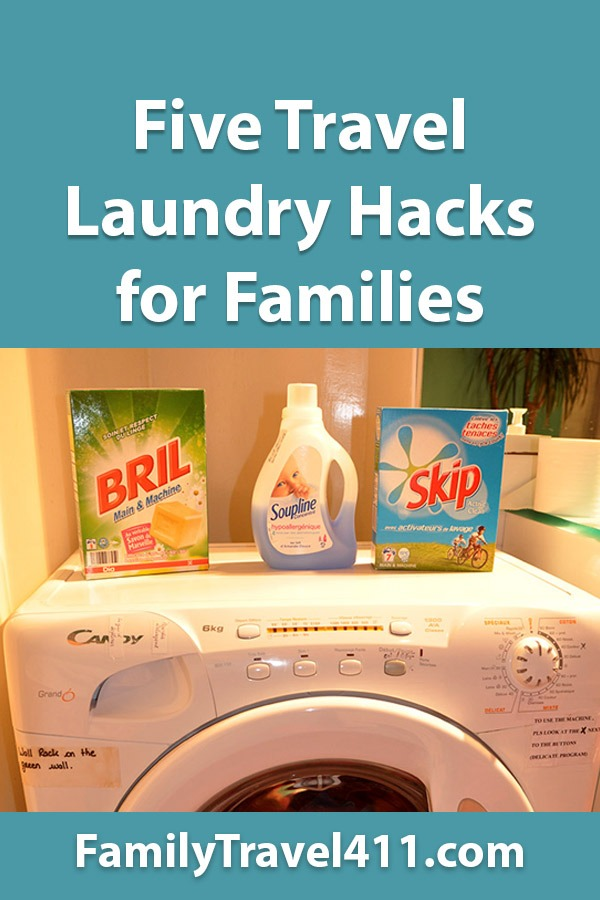 travel laundry hacks for families