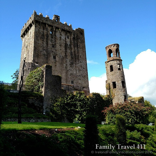 Blarney Castle is a must to visit on any Ireland family vacation