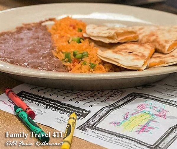 Get your Tex-Mex fix at El Fenix while visiting Dallas Fort Worth with kids.