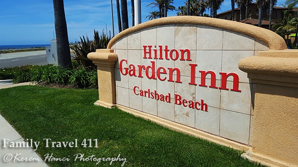 The family-friendly Hilton Garden Inn at Carlsbad.