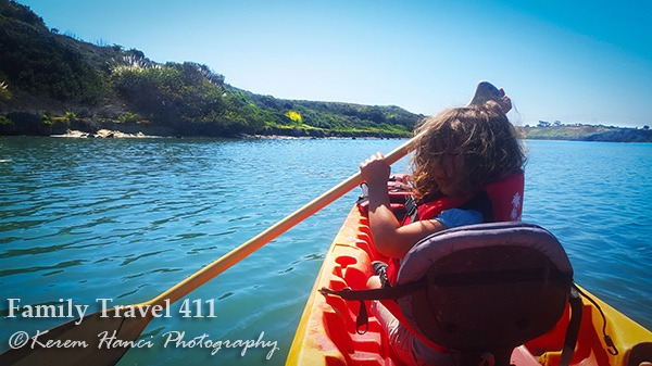 Kayaking Carlsbad Lagoon.