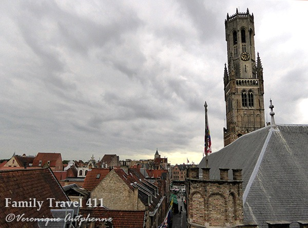 Hike the belfry for the best views of Bruges.