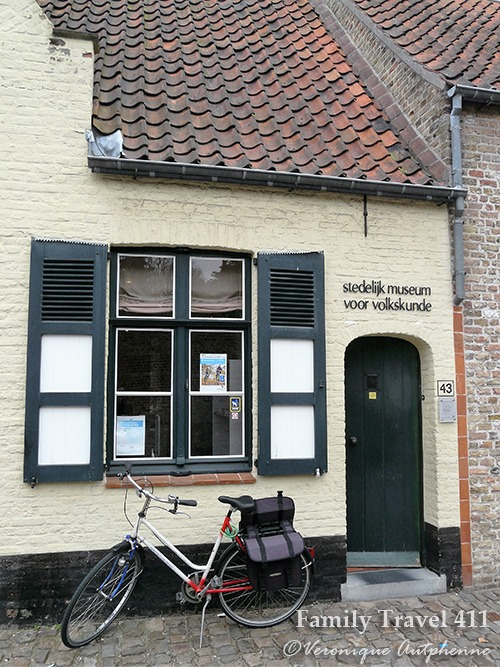 The Folk Museum at Bruges, Belgium.