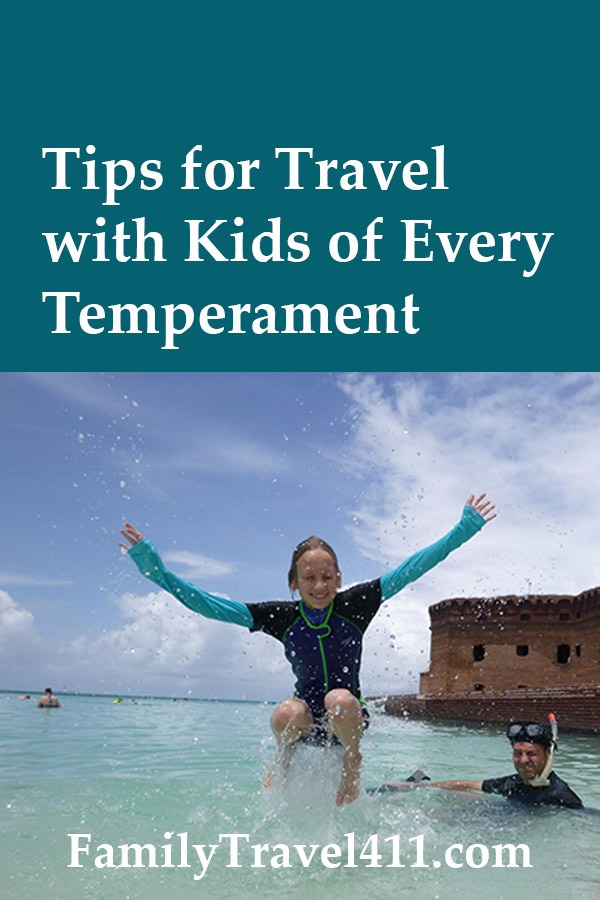tips for travel with kids of every temperament