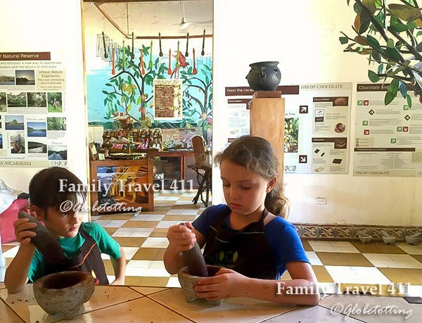 Kids keep busy at Granada's Choco Museo.