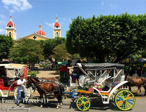 Explore Granada by horse and cart