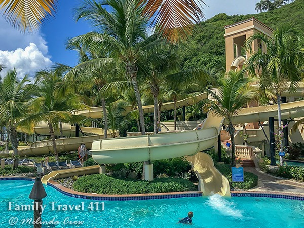 Luxuriate on a lazy river or go for a wild ride down a water slide at Coqui Water Park.