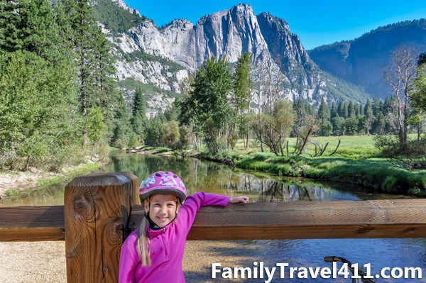 Yosemite National Park with kids? It's better on bikes!