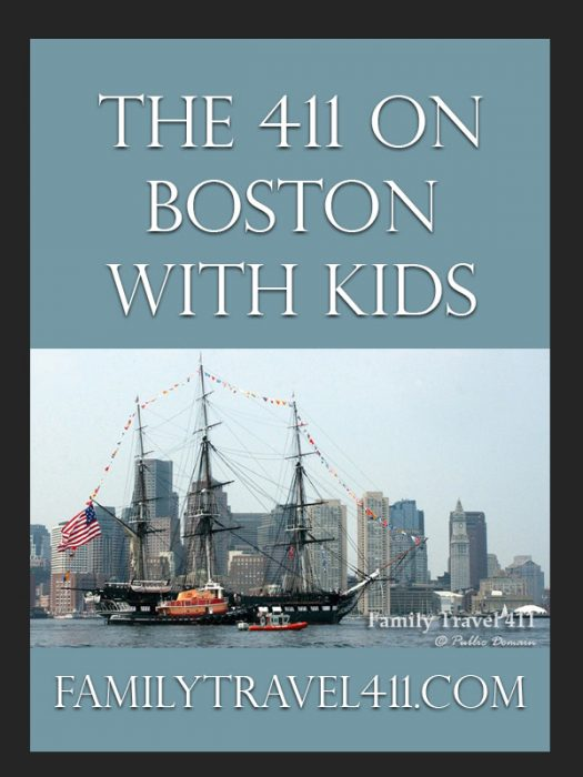 The 411 on Boston with Kids