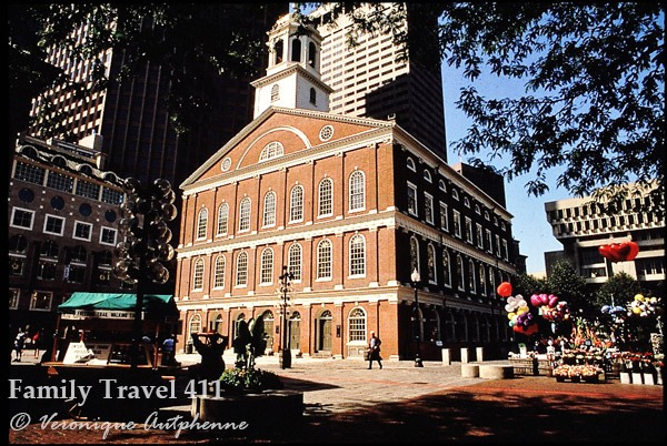 chowda on at Boston's 18th Century Faneuil Hall.