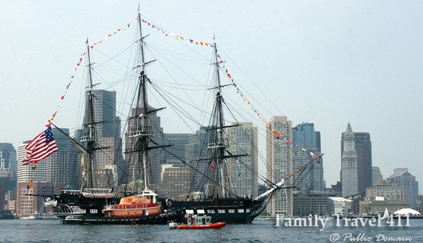 USS Consititution in Boston