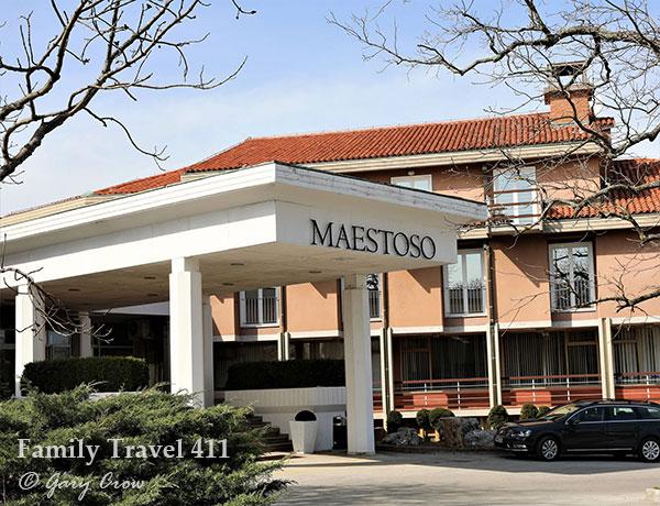 Hotel Maestoso at the Lipica farm