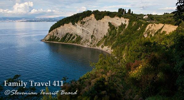 Slovenia's coastline