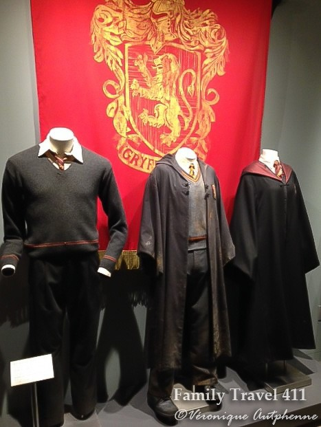 Costumes from the Harry Potter films.