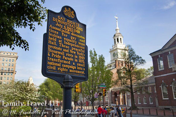The City of Brotherly Love--and Sisterly Affection, historic Philadelphia awaits.