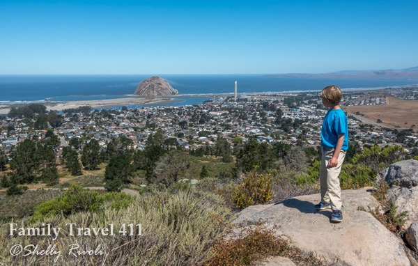The view of Morro Bay from Black Hill.
