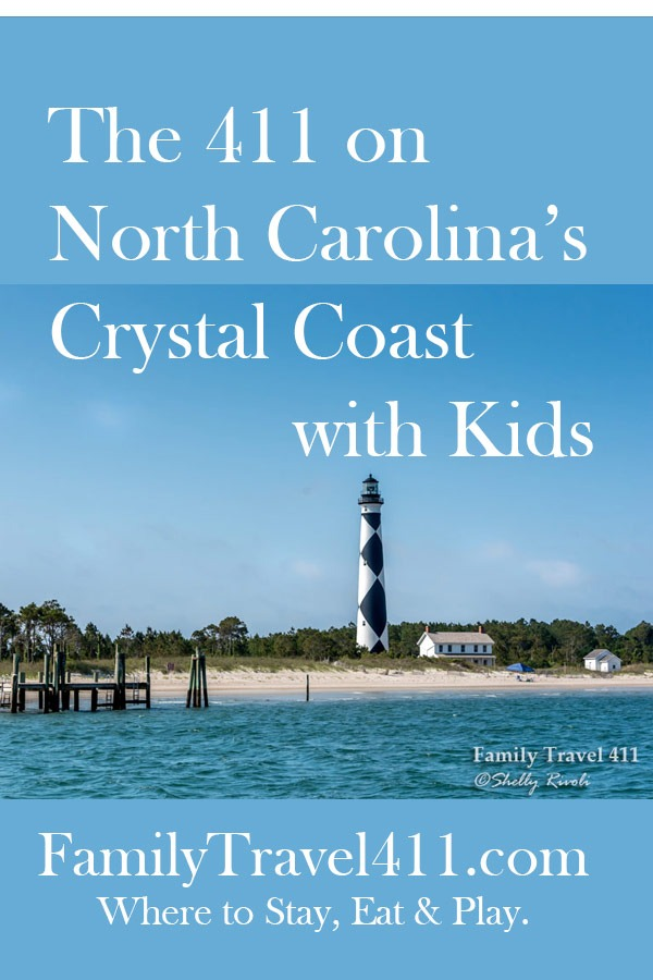 The 411 on North Carolina's Crystal Coast with Kids